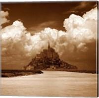 Framed Mont San Michel