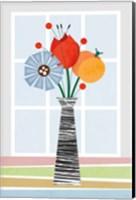 Framed Flowers in Colour