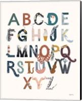 Framed Alphabet A to Z