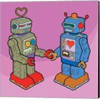 Framed Love Bots