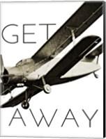 Framed Vintage Airplanes II