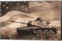 Framed Liberator Tank
