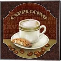 Framed Coffee Illustration III