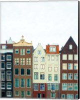 Framed Amsterdam Morning No. 1