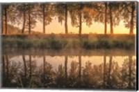 Framed Sunrise in the Netherlands