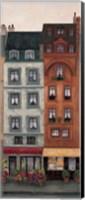 Framed La Floristera I
