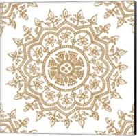 Framed Woodblock Pattern IV