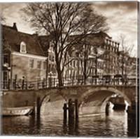 Framed Autumn in Amsterdam II