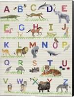 Framed Alphabet Animals