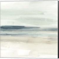 Framed Blue Sands I