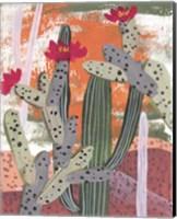 Framed Desert Flowers III