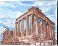 Framed Secret Greece I
