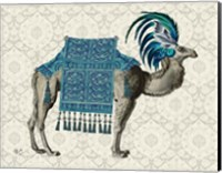 Framed Niraj Camel, Blue