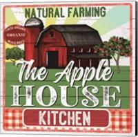Framed Apple House Kitchen