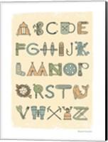 Framed Camping Alphabet