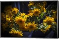 Framed Yellow Flowers