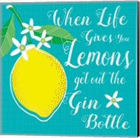 Framed Life Gives You Lemons