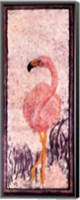Framed Flamingo 3 Batik