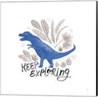 Framed Dino Inspiration IV