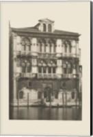 Framed Vintage Views of Venice II