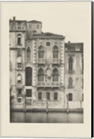 Framed Vintage Views of Venice III