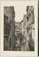 Framed Vintage Views of Venice IV