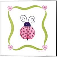 Framed Lovebugs - Ladybug