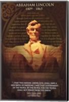 Framed Lincoln, Abraham