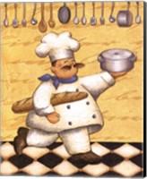 Framed Le Chef Et Le Pain