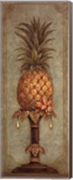 Framed Pineapple and Pearls I