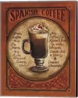 Framed Spanish Coffee