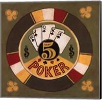 Framed Poker - $5