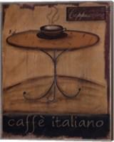 Framed Caffe Italiano