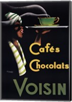 Framed Cafes Chocolats