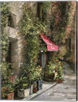 Framed St.Moritz Cafe