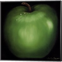 Framed Green Apple