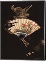 Framed Oriental Fan I