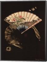 Framed Oriental Fan II