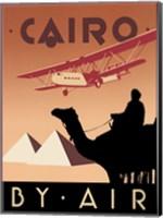 Framed Cairo by Air