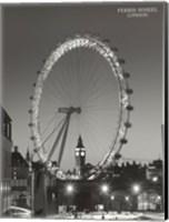 Framed Ferris Wheel, London