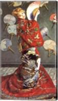 Framed La Japonaise