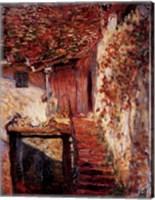 Framed Die Treppe