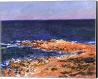 Framed La Grande Bleue at Antibes