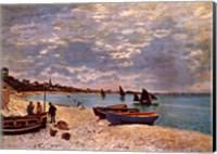 Framed Beach at Sainte-Adresse