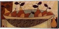 Framed Bowl Of Pears