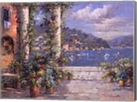 Framed Hillside View II
