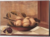 Framed Tuscan Fruit Bowl II