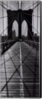 Framed Across the Brooklyn Bridge