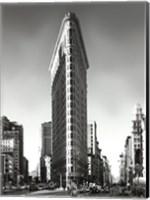 Framed New York, New York, Flatiron Building