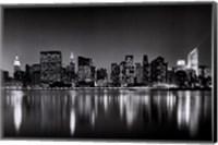 Framed New York, New York, Manhattan East Side